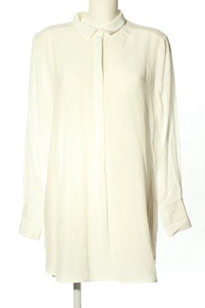 Comma Camicetta lunga crema stile casual