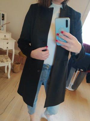 Comma Cappotto in lana nero
