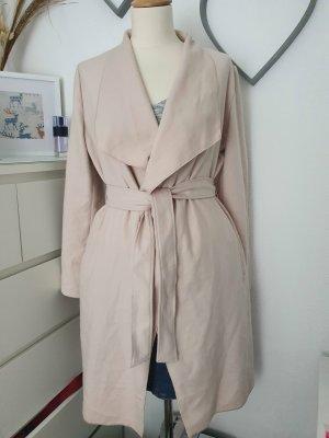 Comma Fleece Coats cream polyester