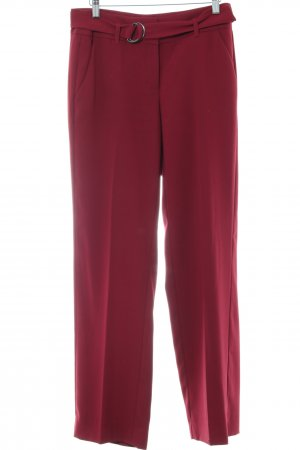 Comma Marlenehose rot Casual-Look