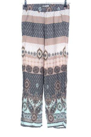 Comma Pantalon Marlene motif abstrait style décontracté