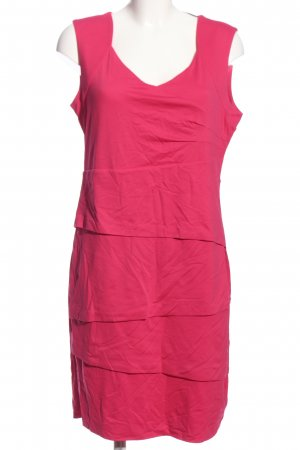 Comma Midikleid pink Casual-Look