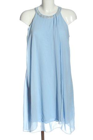 Comma Midikleid blau Elegant