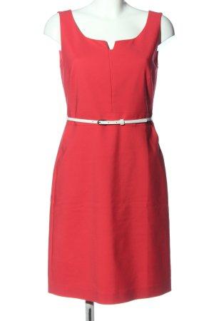 Comma Vestido ceñido de tubo rojo look casual