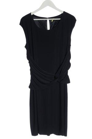 Comma Midikleid schwarz Elegant
