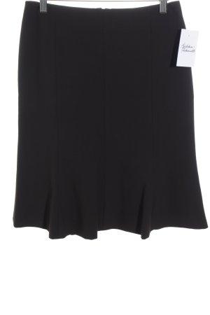 Comma Spódnica midi ciemnobrązowy W stylu biznesowym