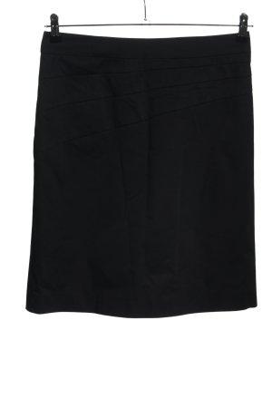 Comma Spódnica midi czarny W stylu casual