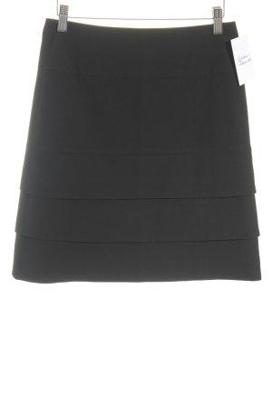 Comma Spódnica midi czarny W stylu biznesowym