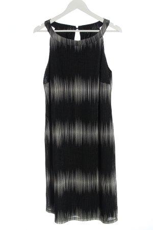 Comma Mini Dress black-white color gradient casual look