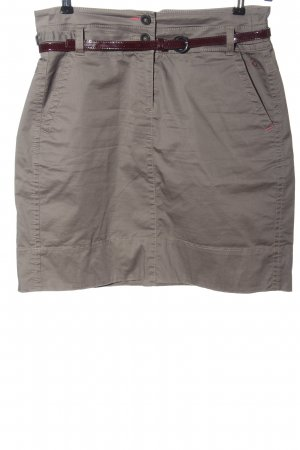 Comma Miniskirt brown casual look