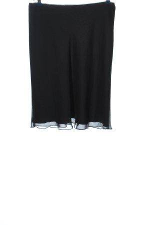 Comma Spódnica ze stretchu czarny W stylu biznesowym