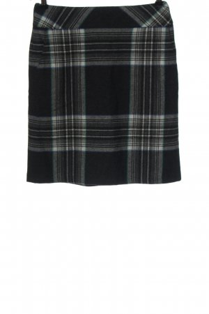Comma Miniskirt check pattern business style