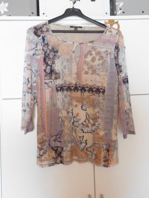 Comma Blouse à enfiler multicolore polyester