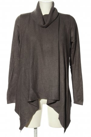 Comma Oversized Pullover hellgrau Casual-Look