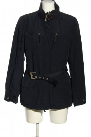 Comma Parka blauw casual uitstraling