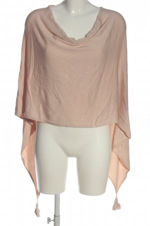 Comma Poncho nude casual look