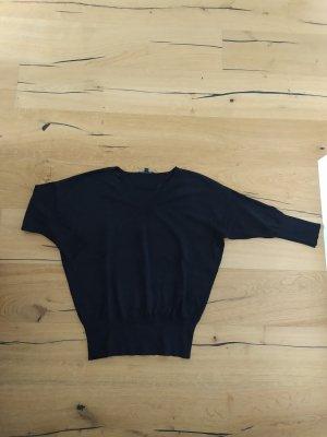 Comma Pulli Feinstrick Pullover V-Neck Bündchen Blouson
