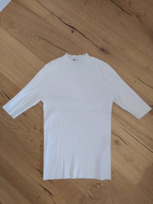 Comma Jersey de manga corta blanco puro