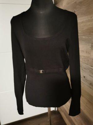 Comma Crewneck Sweater black