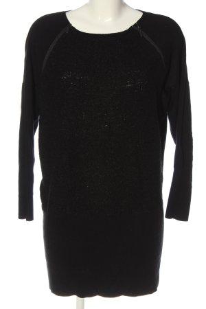 Comma Pulloverkleid schwarz Casual-Look