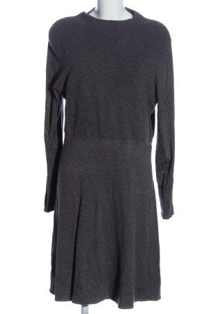 Comma Swetrowa sukienka jasnoszary W stylu casual