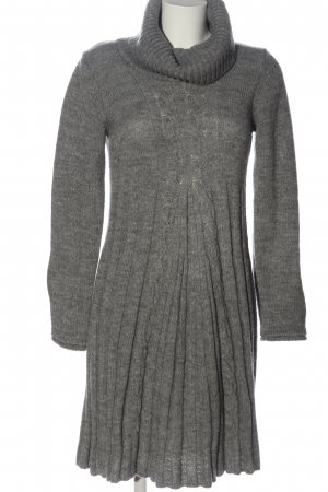 Comma Sweater Dress light grey casual look