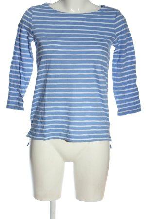 Comma Koszulka w paski niebieski-biały Wzór w paski