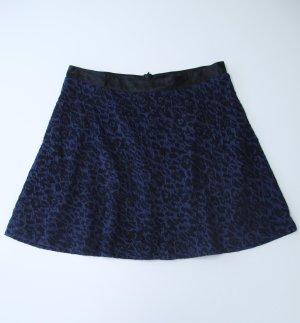 Comma Skaterska spódnica czarny-niebieski