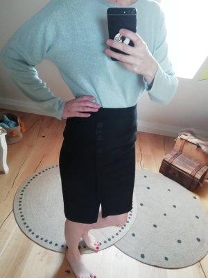 Comma High Waist Skirt black