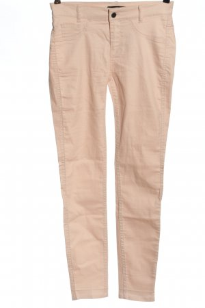 Comma Drainpipe Trousers pink casual look