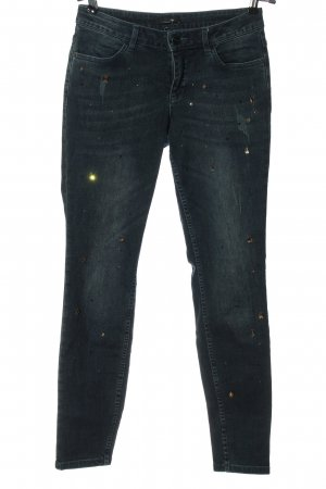 Comma Tube Jeans blue casual look