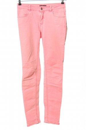 Comma Röhrenjeans pink Casual-Look
