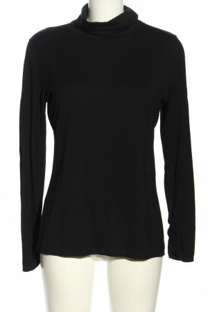 Comma Turtleneck Shirt black casual look