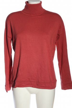 Comma Turtleneck Shirt red casual look