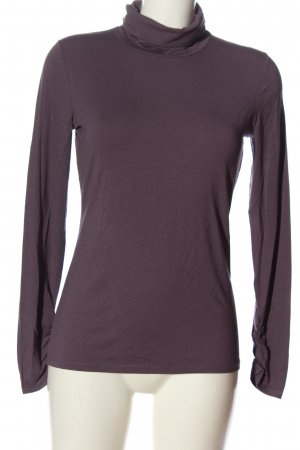 Comma Turtleneck Shirt brown casual look