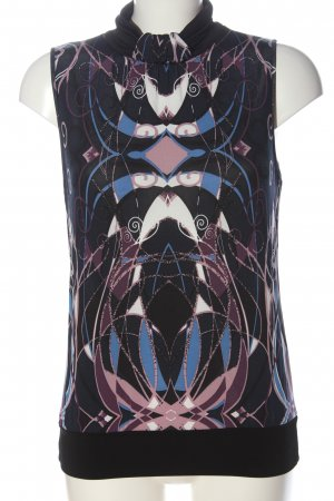 Comma Neckholder Top abstract pattern casual look