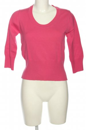 Comma Rundhalspullover pink Casual-Look