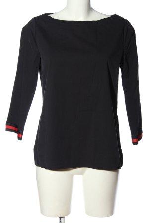 Comma Bluzka przez głowę czarny W stylu casual