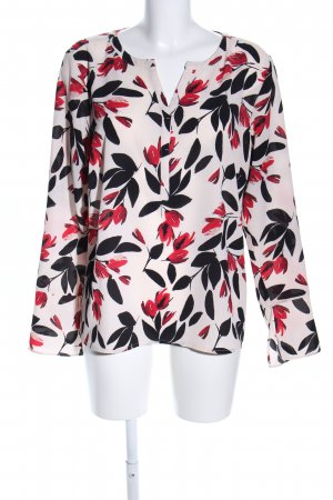 Comma Slip-over Blouse flower pattern casual look