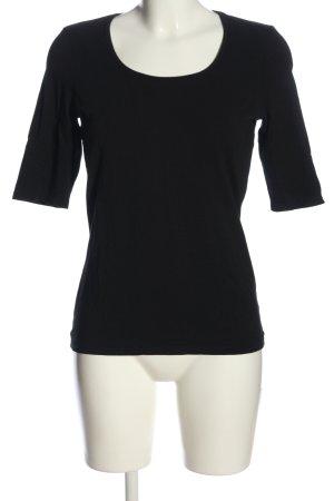 Comma Slip-over blouse zwart casual uitstraling