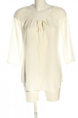 Comma Schlupf-Bluse wollweiß Elegant