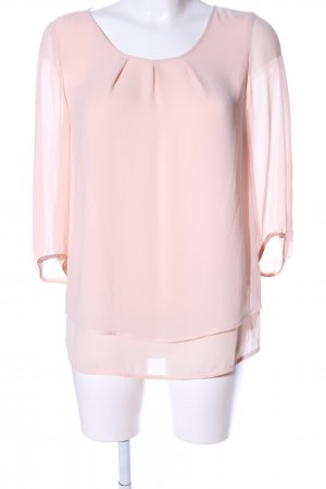 Comma Schlupf-Bluse pink Business-Look
