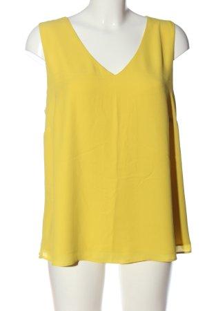Comma Schlupf-Bluse blassgelb Casual-Look
