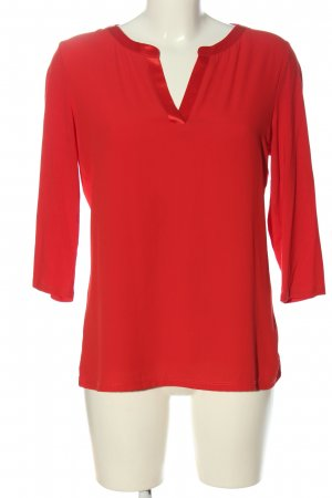 Comma Schlupf-Bluse rot Business-Look