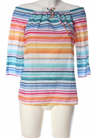 Comma Slip-over Blouse striped pattern casual look