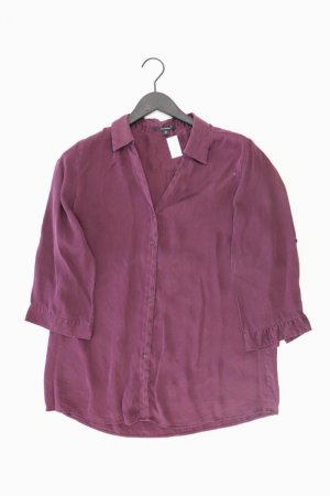 Blusa in seta lilla-malva-viola-viola scuro Seta