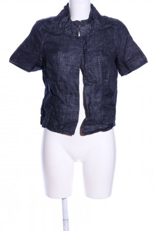 Comma Shirt Jacket blue flecked casual look