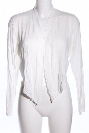 Comma Chaqueta estilo camisa blanco elegante