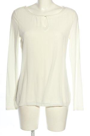 Comma Camicia a tunica bianco stile casual