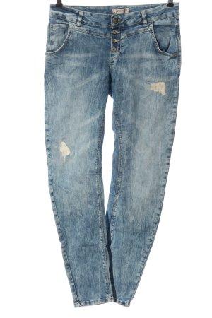 Comma Vaquero skinny azul look casual